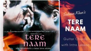 Read more about the article Tere Naam Guitar Chords with Intro Lesson