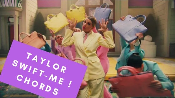 Read more about the article Taylor Swift -ME Chords ( feat. Brendon Urie Panic! At The Disco)