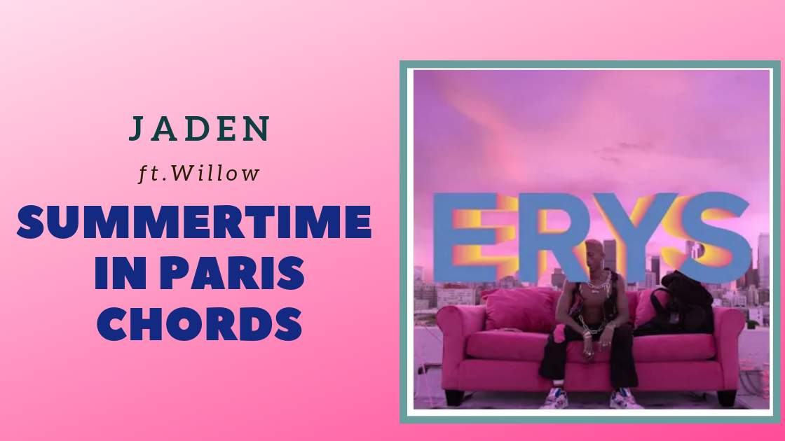 Read more about the article Jaden – Summertime in Paris Chords ft. Willow