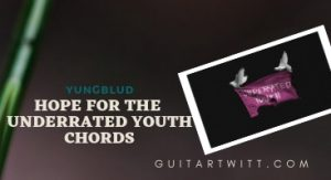 Read more about the article YUNGBLUD – Hope For The Underrated Youth Chords