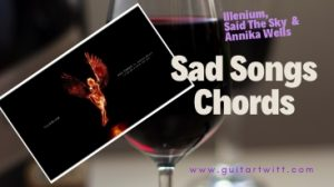 Read more about the article ILLENIUM, Said The Sky, Annika Wells – Sad Songs Chords