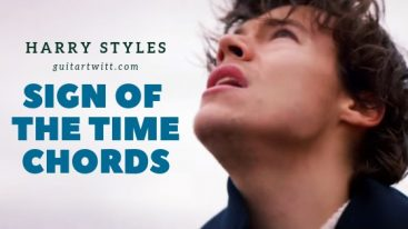 Sign of The Times Chords