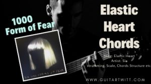 Read more about the article Sia – Elastic Heart Chords (Piano Ver.) With/Without Capo