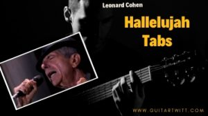 Read more about the article Leonard Cohen – Hallelujah Tabs