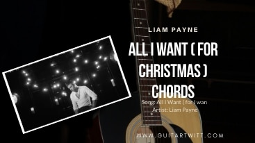Read more about the article Liam Payne – All I Want (For Christmas) Chords