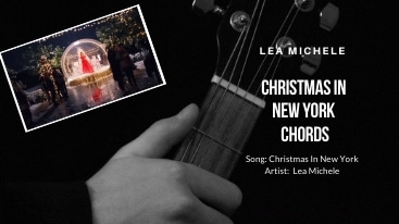 Lea Michele – Christmas In New York Chords