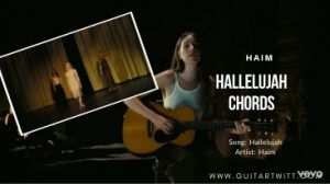 Read more about the article HAIM – Hallelujah Chords | Easy