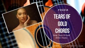Read more about the article Faouzia -TEARS OF GOLD CHORDS