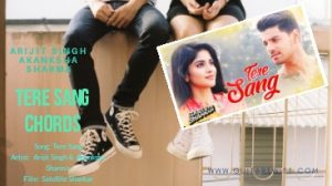 Read more about the article TERE SANG CHORDS | Arijit Singh | Satellite Shankar