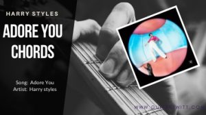 Read more about the article Harry Styles – Adore You Chords