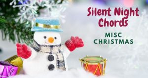 Read more about the article Easy: SILENT NIGHT CHORDS by Misc Christmas