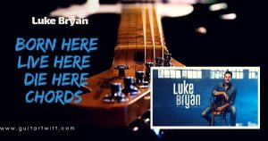 Read more about the article Luke  Bryan – Born Here Live Here Die Here Chords