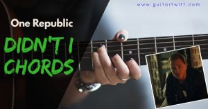 Read more about the article OneRepublic – DIDNT I CHORDS PIANO AND GUITAR