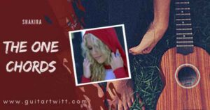 Read more about the article Shakira – THE ONE CHORDS (Easy) for Guitar & Ukulele