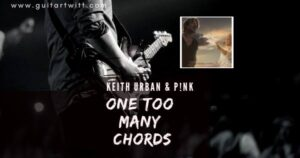 Read more about the article Keith Urban & P!nk – One Too Many Chords for Guitar Piano & Ukulele