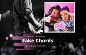 Read more about the article LAUV & CONAN GRAY – Fake Chords Guitar, Piano & ukulele