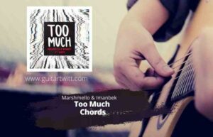 Read more about the article MARSHMELLO & IMANBEK – TOO MUCH CHORDS Guitar Piano & Ukulele