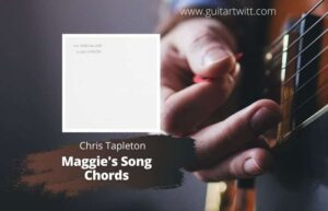 Read more about the article Chris Stapleton – Maggies Song Chords