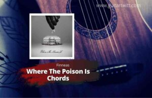 Read more about the article FINNEAS – Where the Poison Is Chords for Guitar Piano & Ukulele