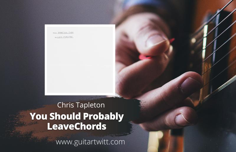 You Should Probably Leave Chords