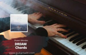 Read more about the article Shawn Mendes – Dream Chords for Guitar Piano & Ukulele