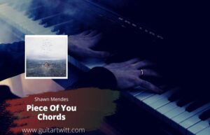 Read more about the article Shawn Mendes – Piece Of You Chords