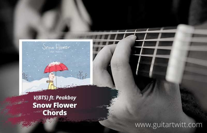 Read more about the article V (BTS) – Snow Flower Chords feat. Peakboy