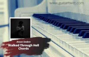 Read more about the article Anson Seabra – Walked Through Hell chords