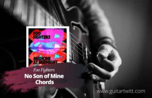 Read more about the article Foo Fighters – No Son of Mine Chords