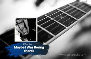 Read more about the article Wilbur Soot – Maybe I Was Boring chords