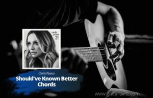 Read more about the article Carly Pearce – Should've Known Better Chords