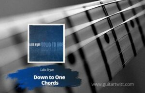 Read more about the article Luke Bryan – Down To One Chords