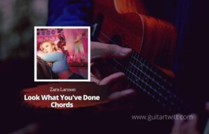 Read more about the article Zara Larsson – Look What You've Done Chords