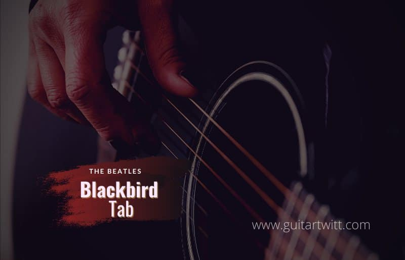 Read more about the article The Beatles – Blackbird Tab
