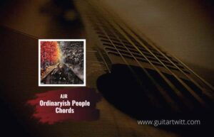 Read more about the article AJR – Ordinaryish People Chords feat. Blue Man Group