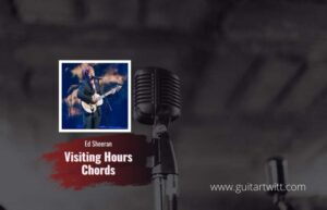 Read more about the article Ed Sheeran – Visiting Hours Chords