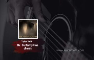 Read more about the article Mr Perfectly Fine chords by Taylor Swift