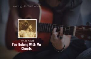Read more about the article Taylor Swift – You Belong With Me chords
