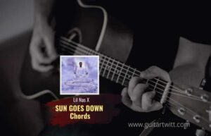 Read more about the article Lil Nas X – SUN GOES DOWN CHORDS