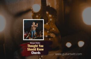 Read more about the article Morgan Wallen – Thought You Should Know chords