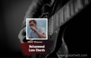 Read more about the article Nelsonwood Lane chords by Matt Maeson