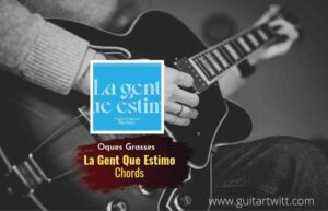 Read more about the article La Gent Que Estimo chords by Oques Grasses