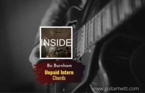 Read more about the article Unpaid Intern chords by Bo Burnham