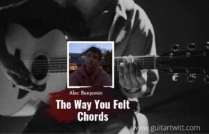 Read more about the article Alec Benjamin- The Way You Felt chords