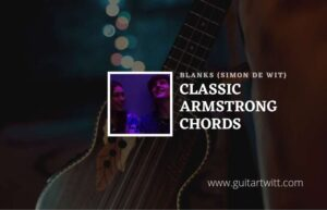 Read more about the article Classic Armstrong chords by Blanks (Simon de Wit)