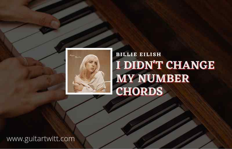 Read more about the article I Didnt Change My Number chords by Billie Eilish