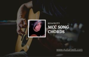 Read more about the article Mcc Song chords by Quackity