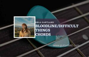 Read more about the article Bloodline/ Difficult Things chords by Orla Gartland