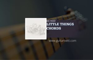Read more about the article Little Things chords by Big Thief