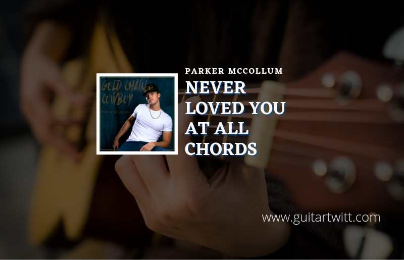 Read more about the article Never Loved You At All chords by Parker McCollum